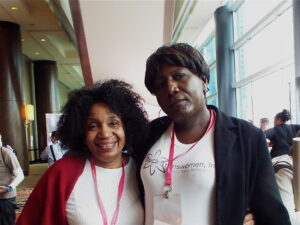"With ""The TransGrio"" Monica Roberts at CC14/Houston, TX"